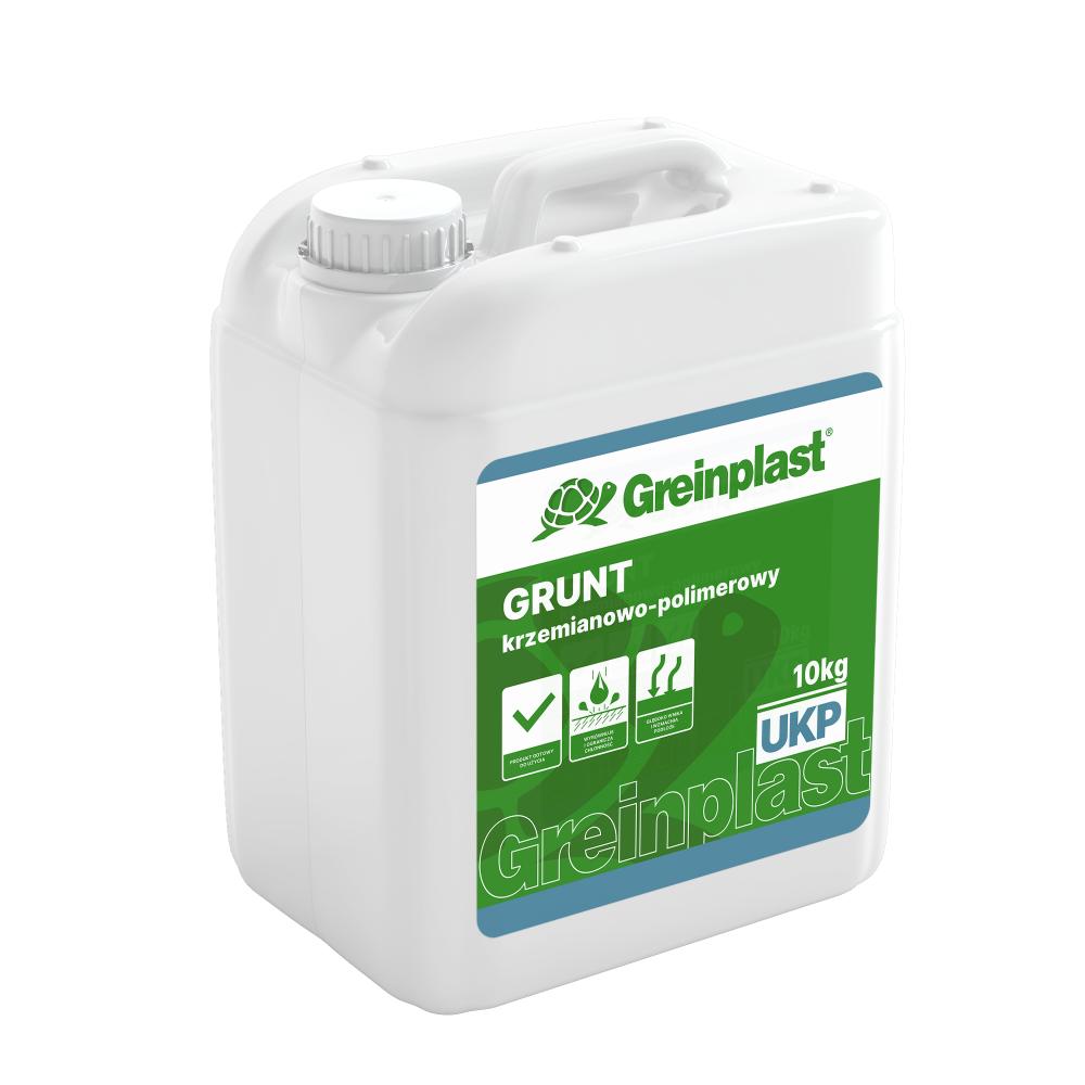 GRUNT KRZEMIANOWO – POLIMEROWY GREINPLAST UKP (5/10kg)