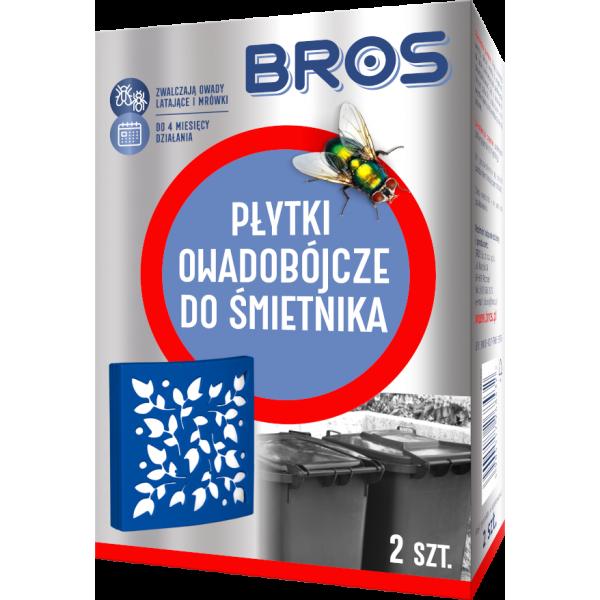 PŁYTKI OWADOBÓJCZE DO ŚMIETNIKA BROS  2szt.