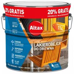 LAKIEROBEJCA DO DREWNA ALTAX (2,5L + 0,5L)