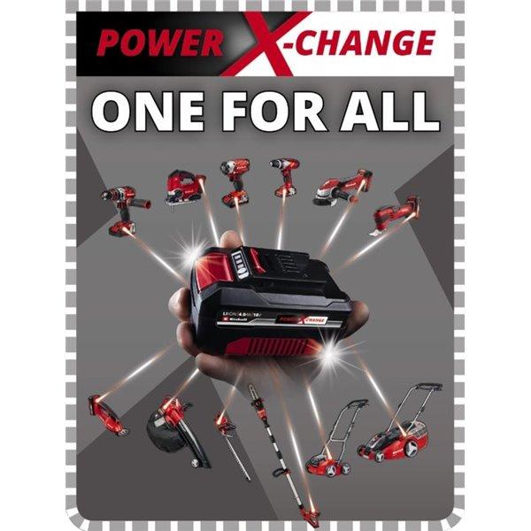 ZESTAW STARTOWY 18V AKU 2,5 Ah/ZASILACZ POWER X-CHANGE