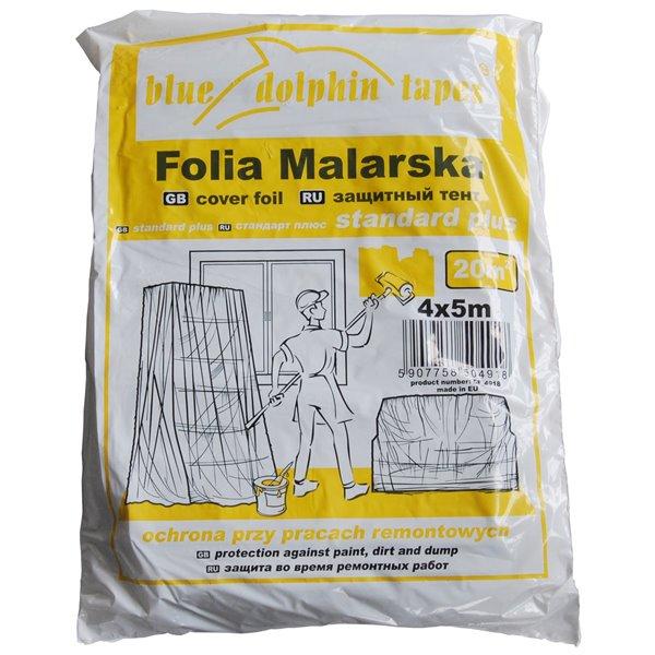 FOLIA MALARSKA BLUE DOLPHIN TAPES STANDARD PLUS 4x5m