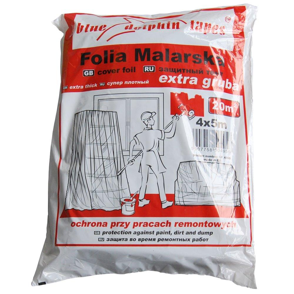 FOLIA MALARSKA BLUE DOLPHIN TAPES EXTRA GRUBA 4x5m