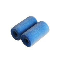 2x WAŁEK MALARSKI 7cm BLUE DOLHIN FLOCK FL5